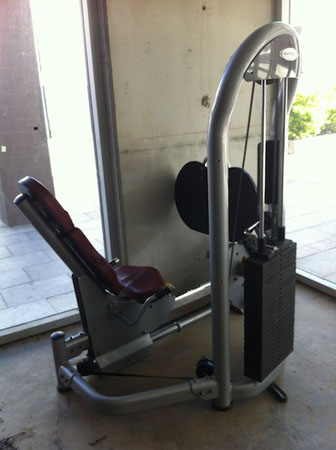 Pinloaded Leg Press
